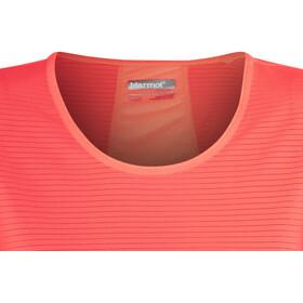 Marmot Aero SS Shirt Women Neon Coral